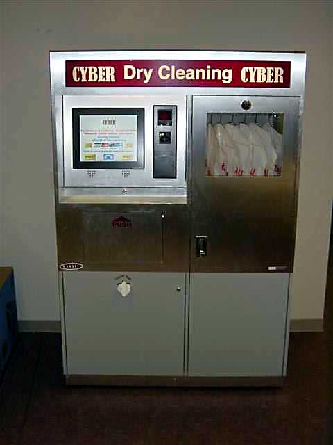 Cyber Dry Cleaning Kiosk